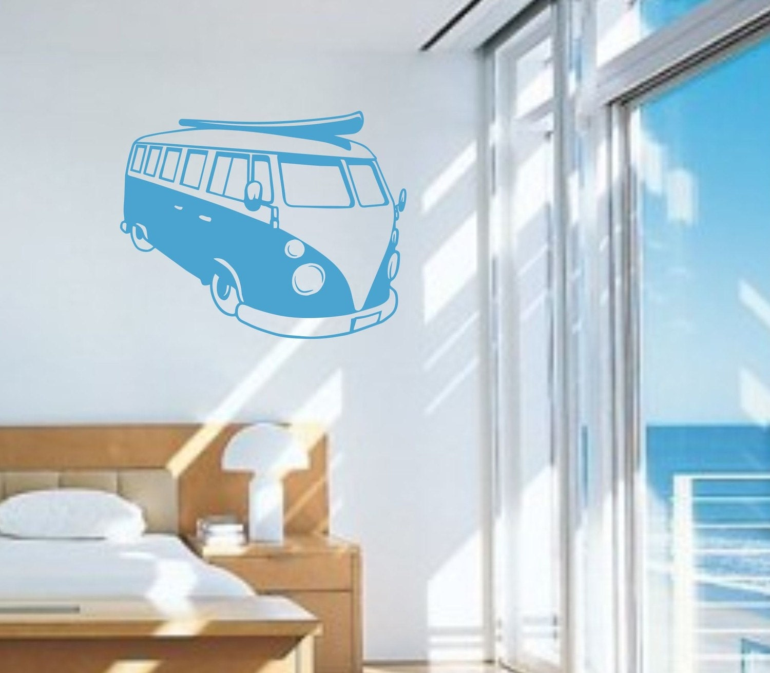VW Bus Decal Sticker Wall
