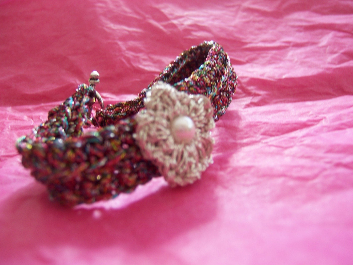 Party Handknitted Bracelet
