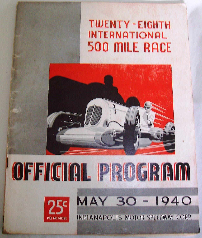 Vintage Auto Car Racing