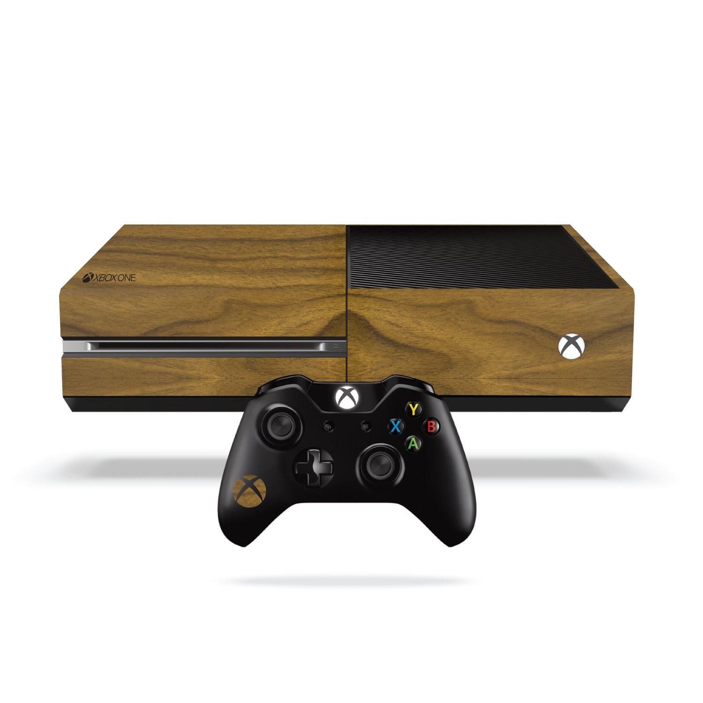 Xbox One Vinyl Wrap Walnut