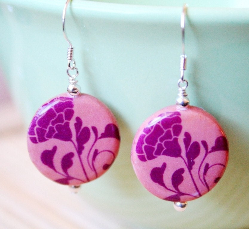 Peach blossom Mini Deco Earrings