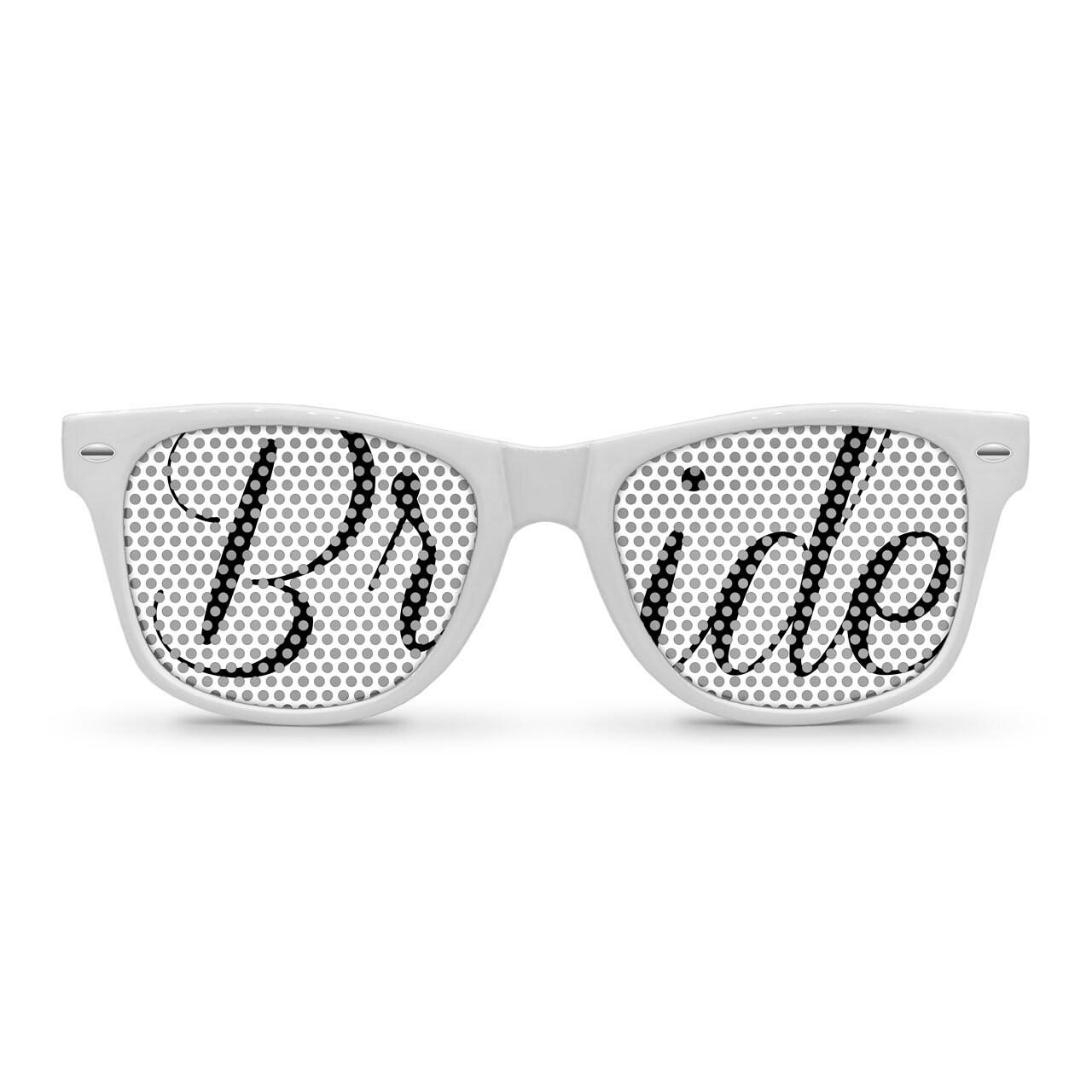 product bride sunglasses white