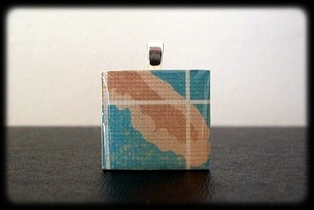 Buy 2 or More ONLY 6.00 Each. Scrabble Tile FLORIDA STATE Pendant