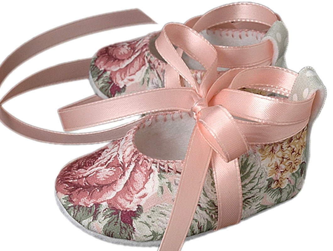 Pink2Blue's Natasha in Pink Baby Girl Shoe.