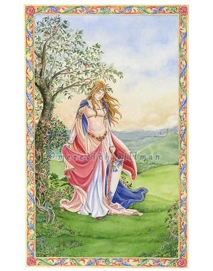 card set - Arthurian Fantasy