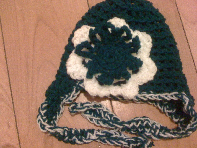 Baby girls St Patricks Day hat