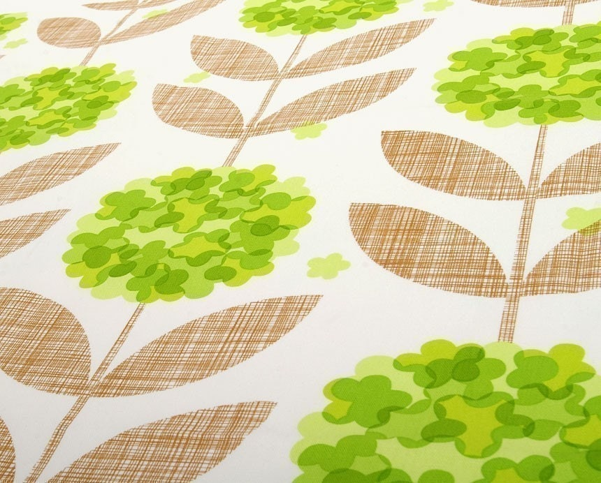 CUTE KAWAII SUN FLOWER/GREEN COLOR/FABRIC/110CMx90CM