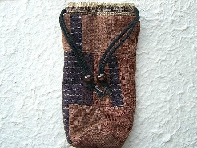 Vintage Japanese Kawaii Cute Bag-Kinchaku Bukuro-Drawstring Bag