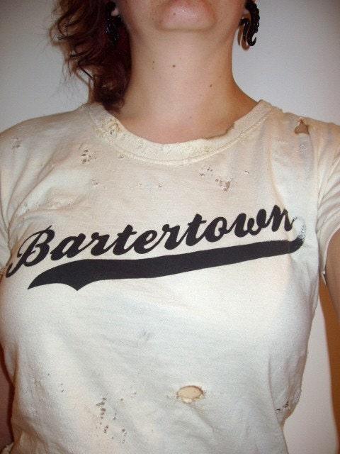 Bartertown Tshirt Beaten and Bruised