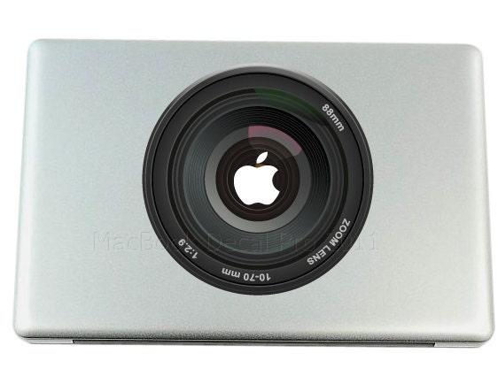 Mac Decals Camera Lens MacBook Pro Decal Stickers
