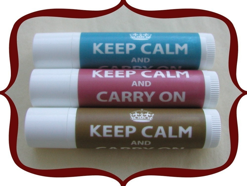 Keep Calm and Carry On - The Lip Balm
