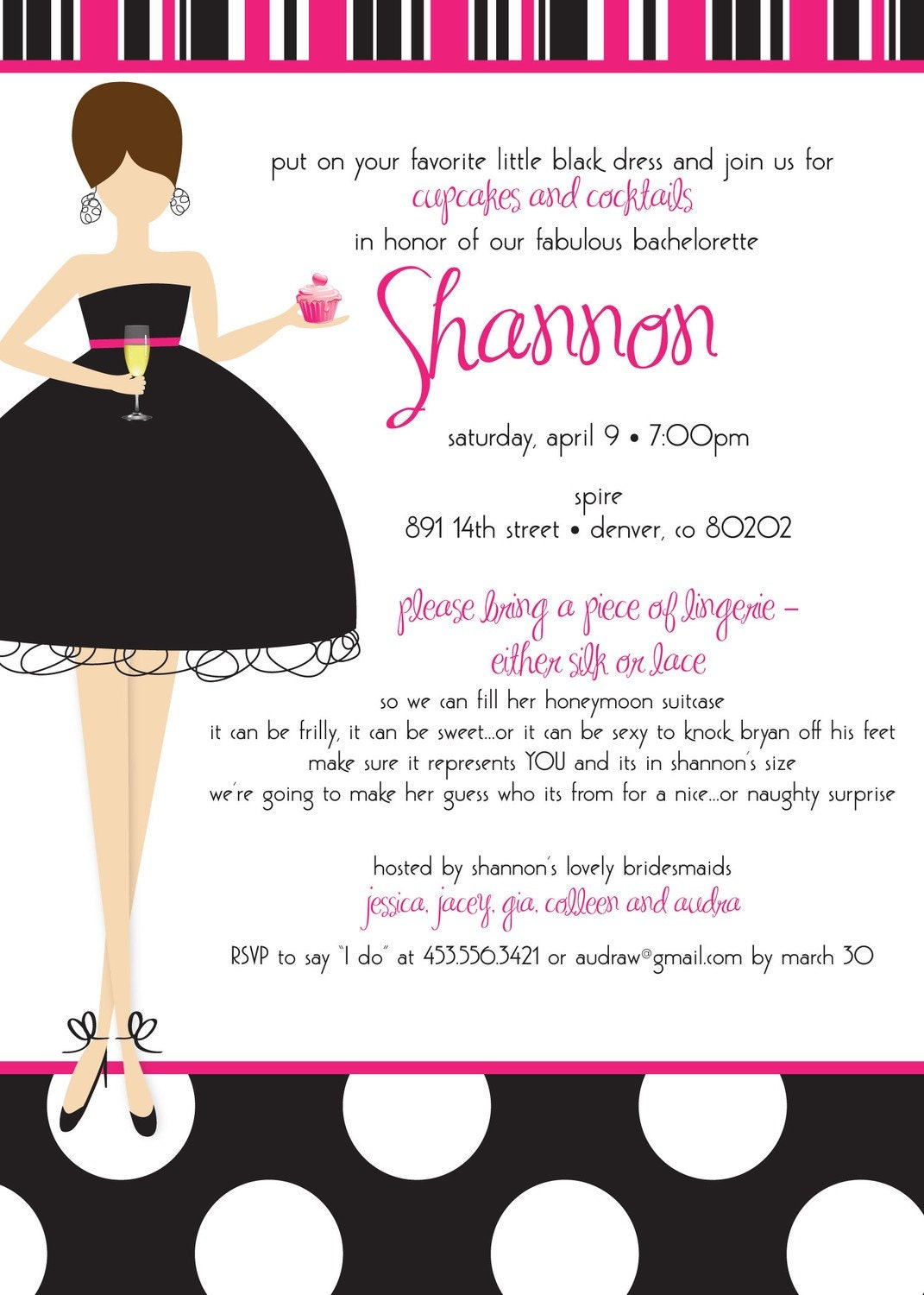 Bridal Shower Invitations Free Bridal Shower Bachelorette Party – Bridal Shower and Bachelorette Party Invitations