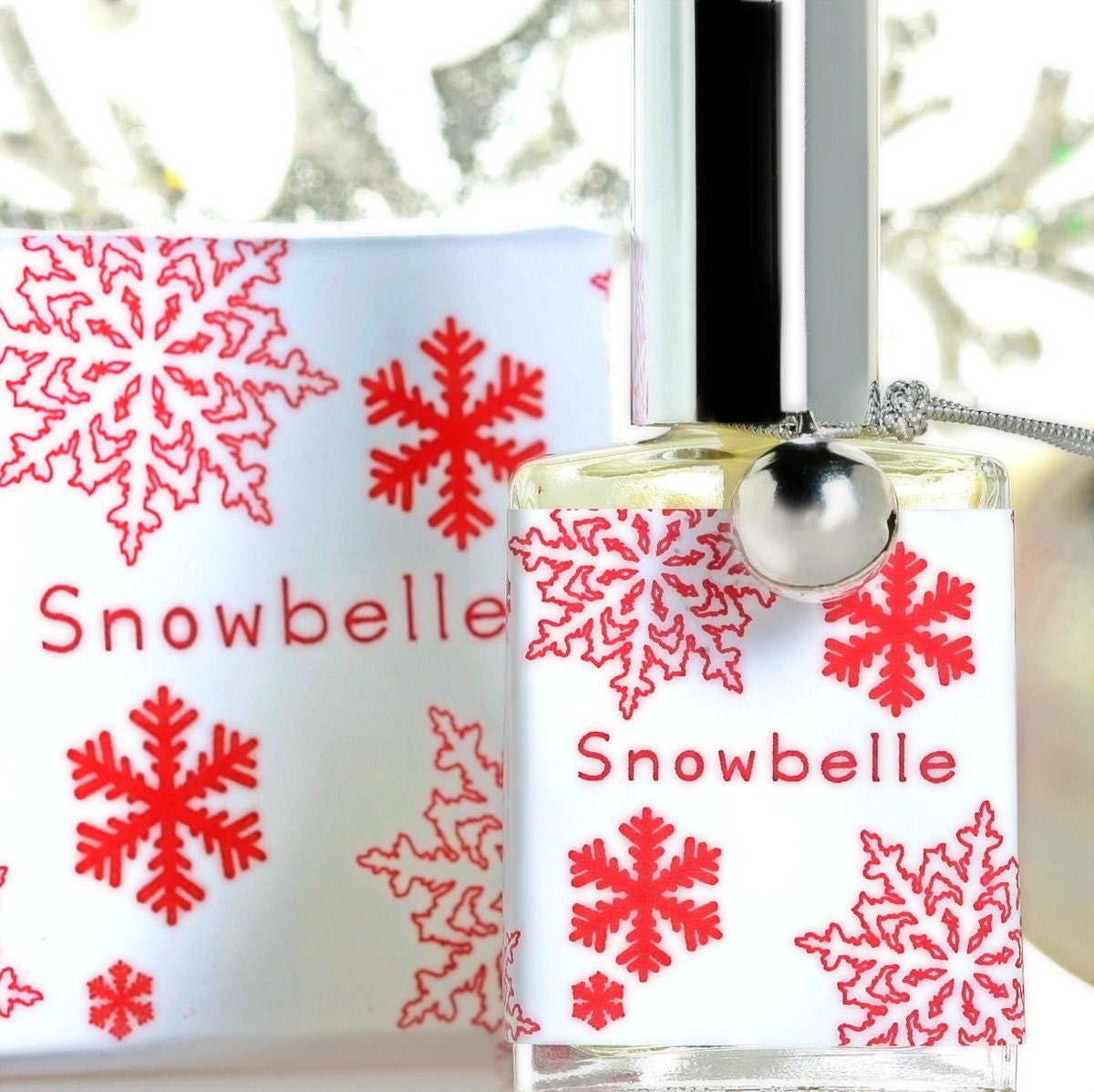 SNOWBELLE tm Red Perfume Spray and Perfumed Soap by themefragrance from etsy.com