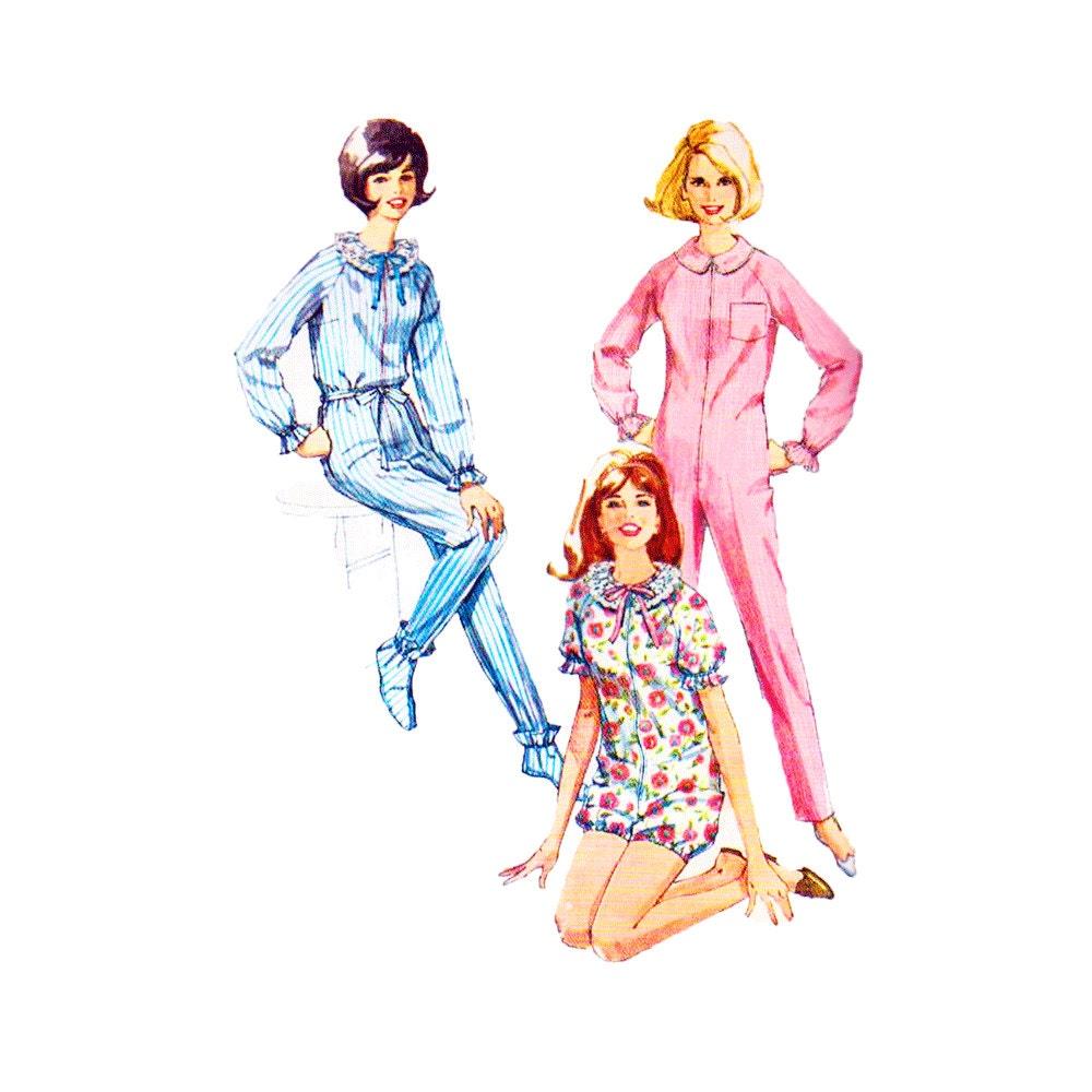 Footed Pajama Pattern - Free Pattern Cross Stitch