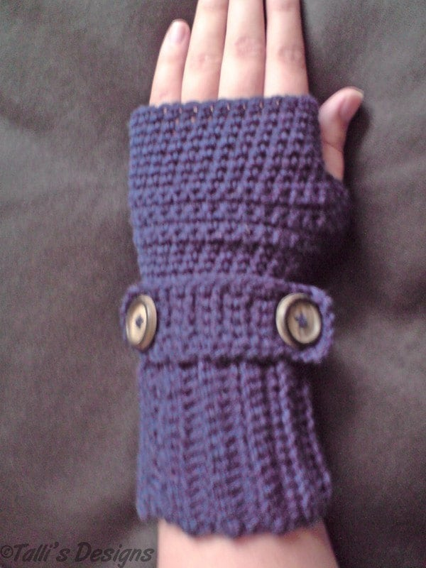 Free Patterns Crochet Gloves : CROCHET FINGERLESS FREE GLOVES PATTERN FREE PATTERNS