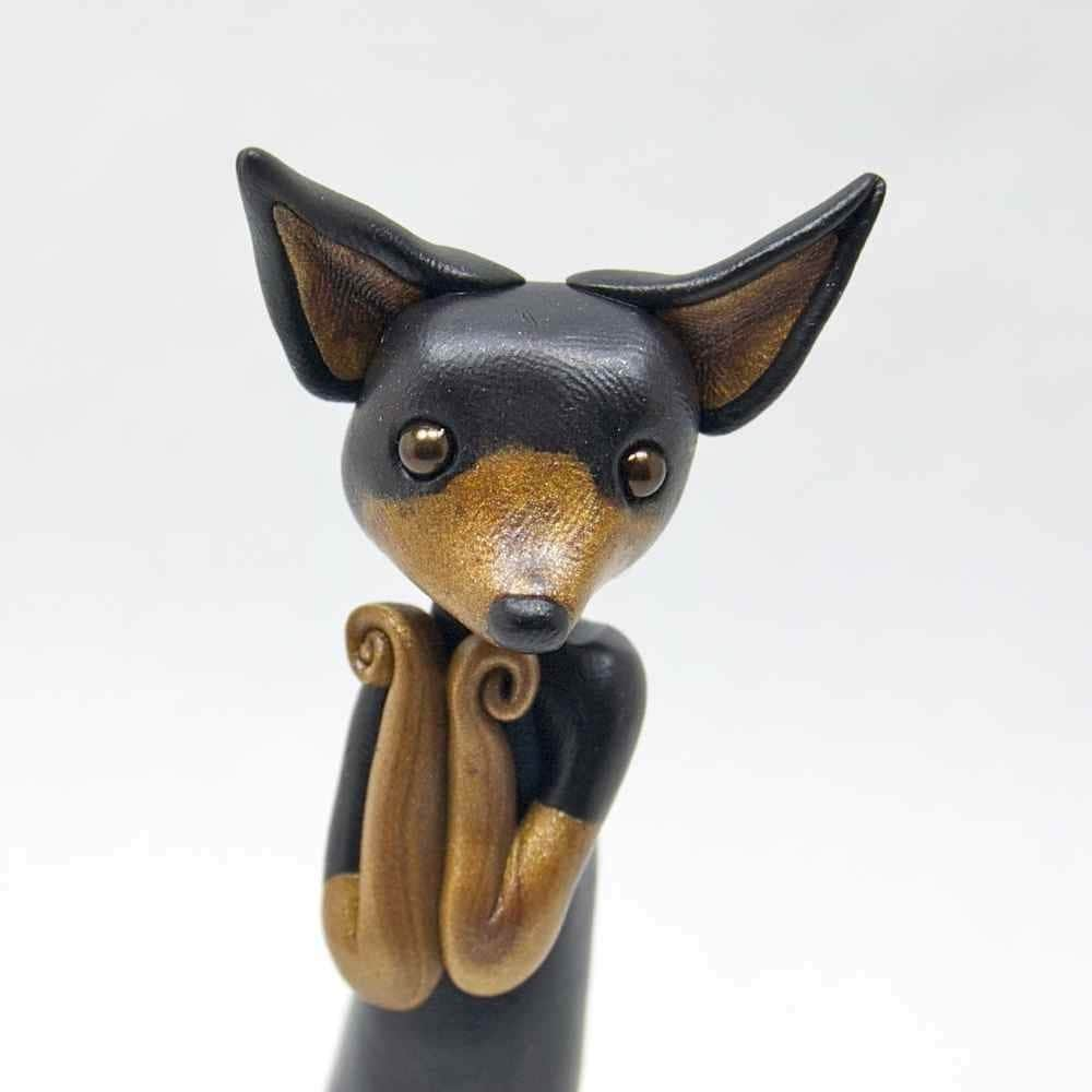 Chihuahua Chica - Little Dog Figurine by Bonjour Poupette