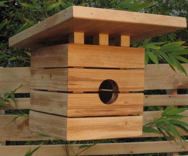 Modern Marvel Bird House