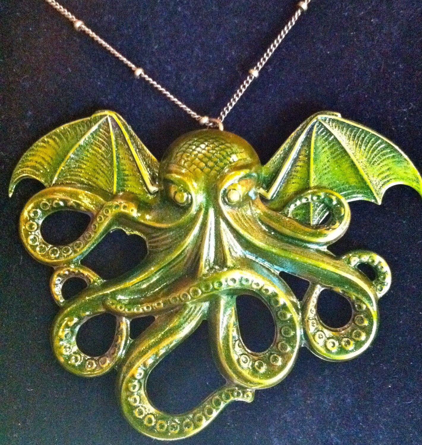 Cthulhu Metal Necklace