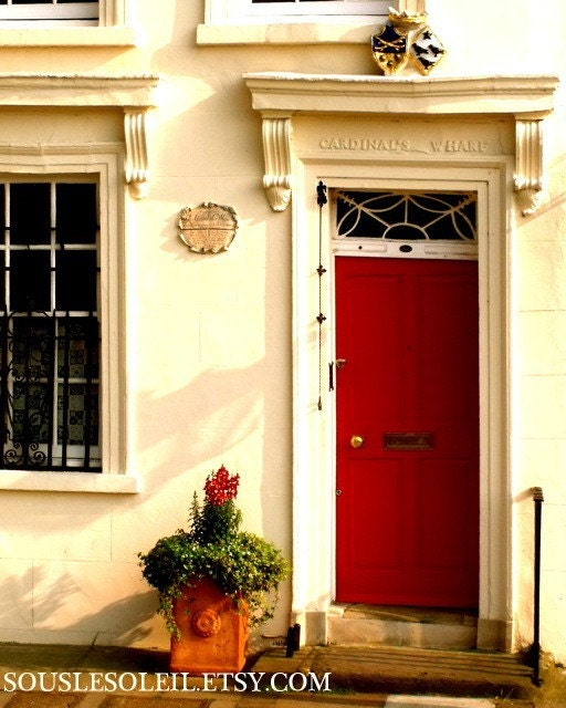 Sir Wren's Red Door- 8X10 photograph