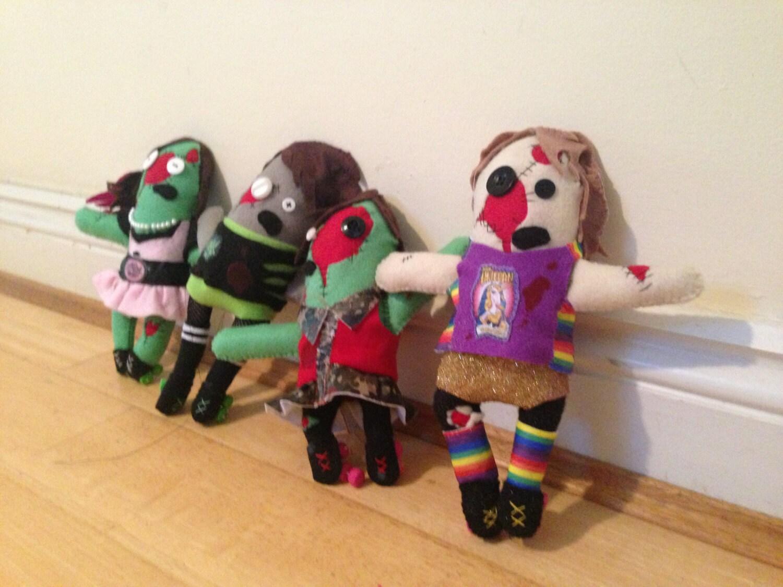 Personalised Roller Derby Zombie - EllaClawley