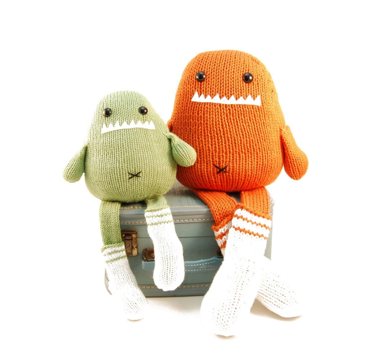NEW Sammie The Sock Monster Knitting Pattern Pdf