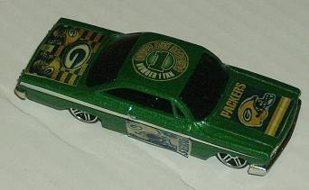 Toys For Trucks Green Bay : Green bay packers hot wheels chevy custom by