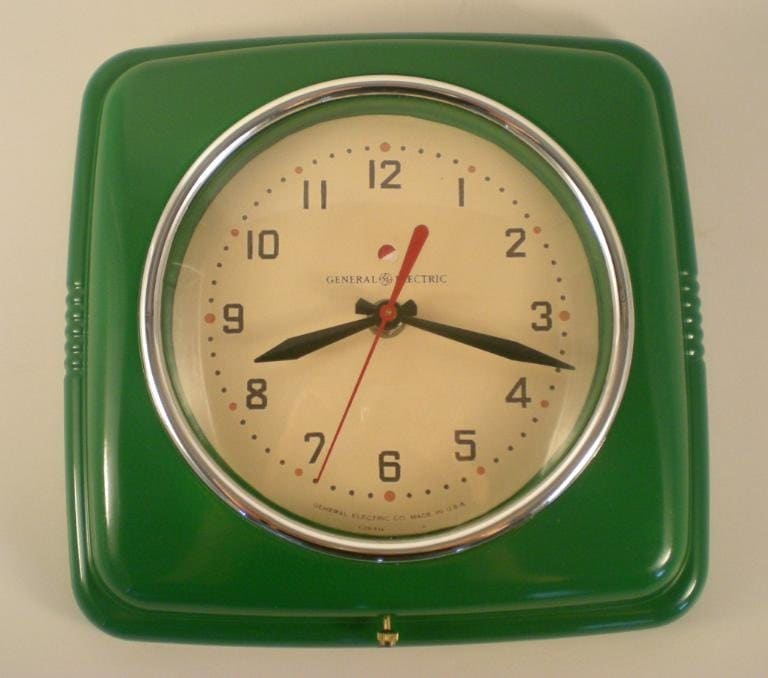 Vintage reproduction wall clocks