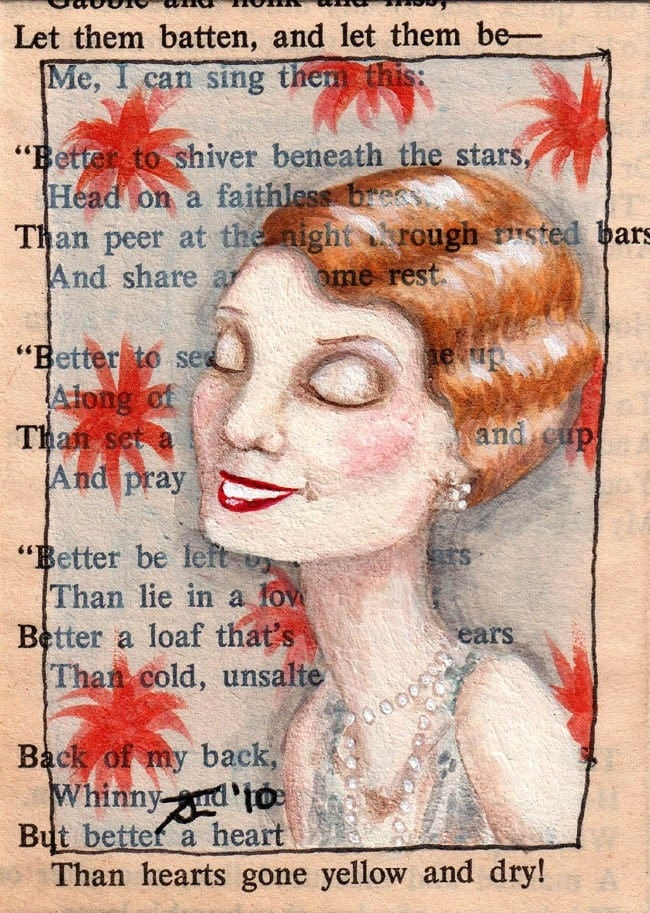 Limited Edition ACEO Print 4 of 20 - New York, 1924 - A Heart Abloom With Sins