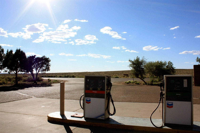 10x15 Desert Gasoline