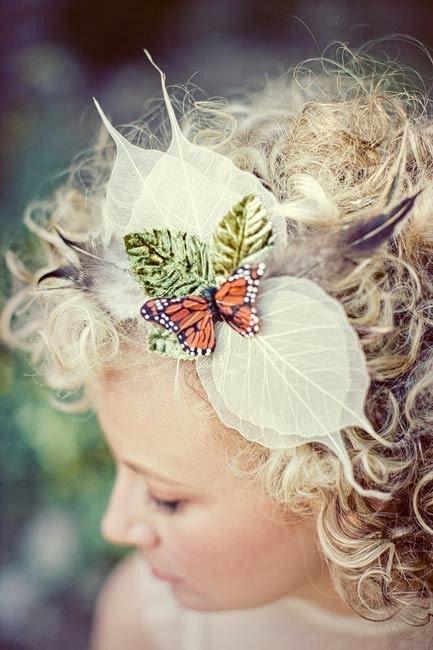 Monarch hairpiece