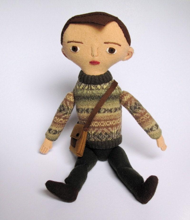 Little guy 2- boy doll