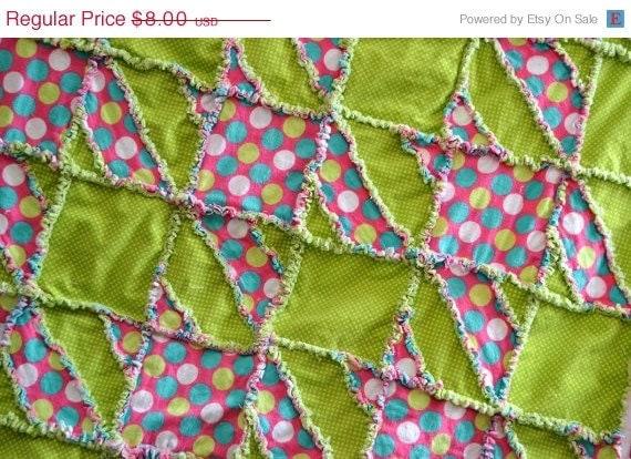 Baby Rag Quilt Patterns