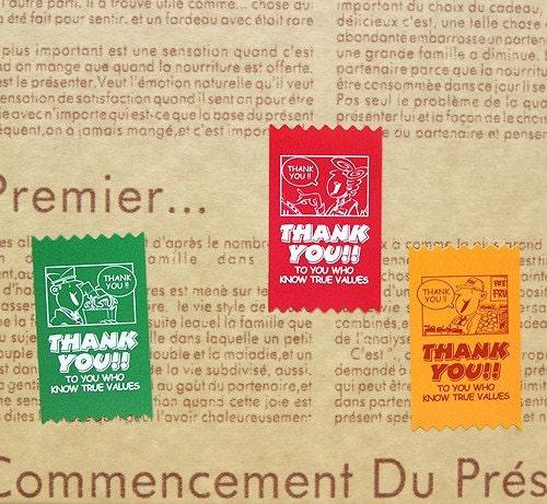 Thank You Sticker - 9pcs