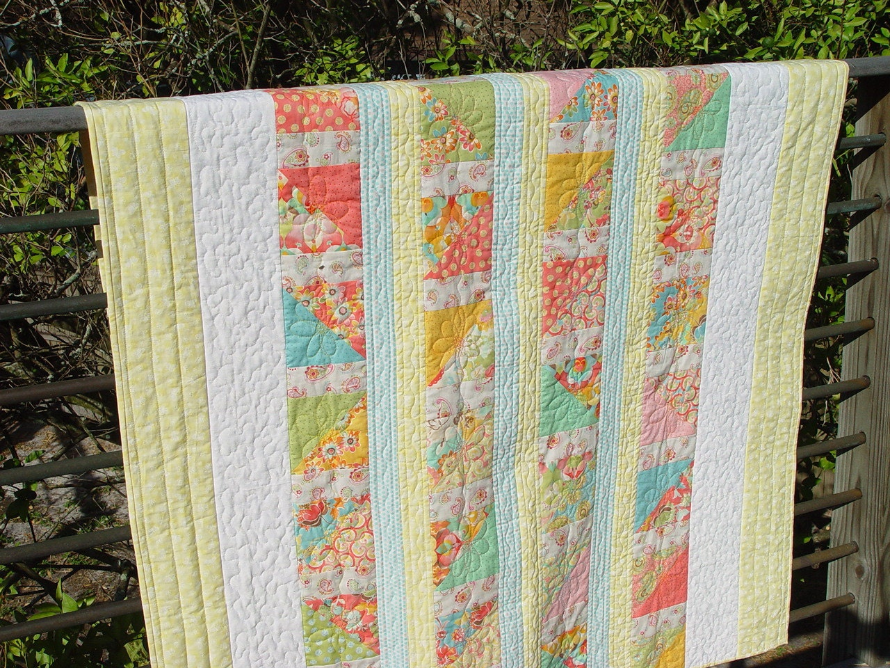 Summer Day Lap Quilt