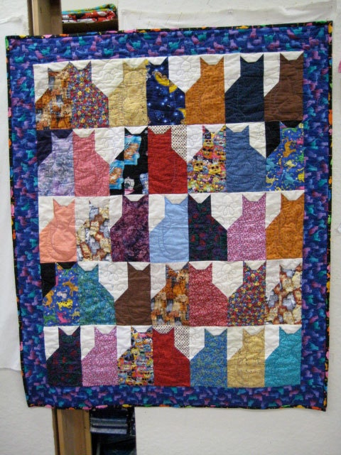 13 Quilted Cats - Mousebreath! A magazine for cats.