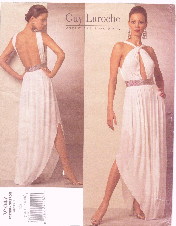 Nice Grecian Dress Sewing Pattern Component - Knitting Pattern Ideas ...
