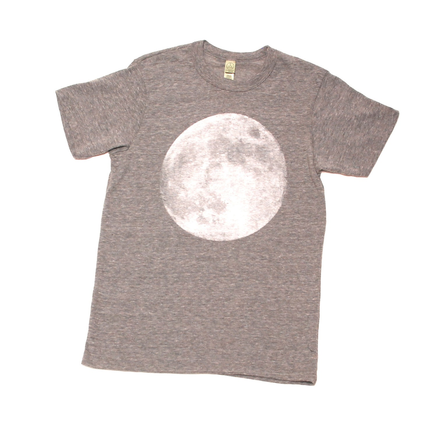 MOON heather grey SHIRT super SOFT unisex t shirt all sizes xs-xxl - TempleofCairo