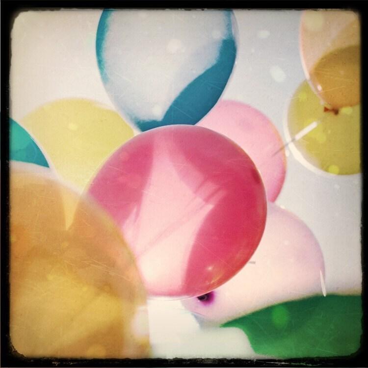 Happy Birthday Balloons - Original Signed Fine Art Photograph