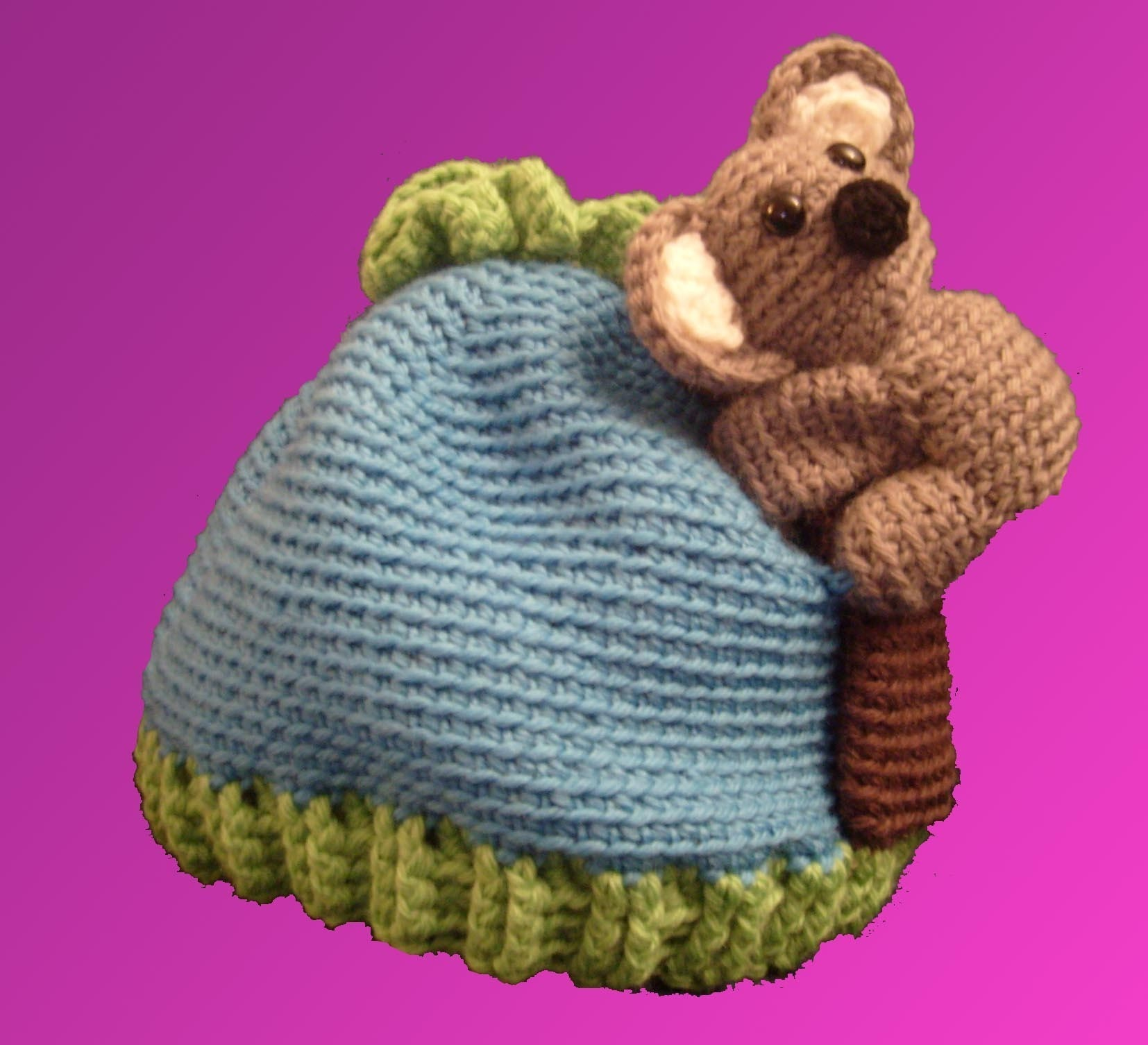 Pattern Amigurumi Koala Hat by FreshStitches on Etsy
