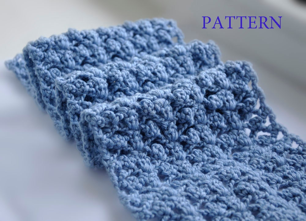 Crochet Scarf PATTERN  PDF format Pattern  Neck Warmer Pattern  Neck Scarves Crochet Patterns
