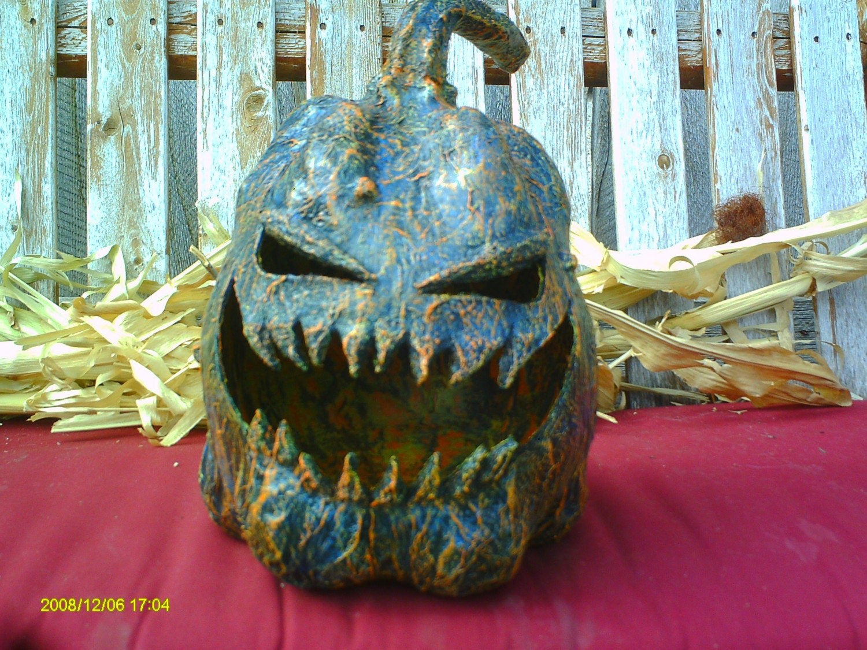 Jack -o-lantern paper mache / Pumpkin