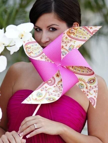 Deposit on your Custom Pinwheel Wedding Set by Rule42 for wrockett