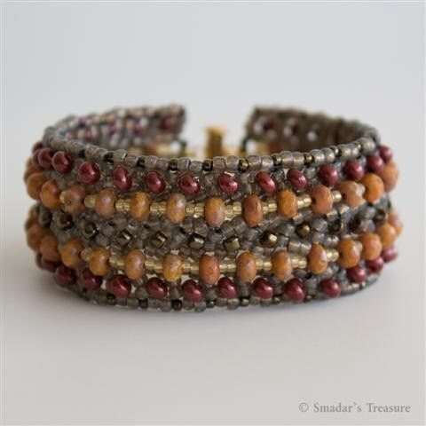 Textured Bracelet in Natural Colors