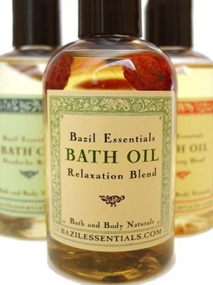 Relaxation Blend - Vanilla Lavender Bath Oil Aromatherapy