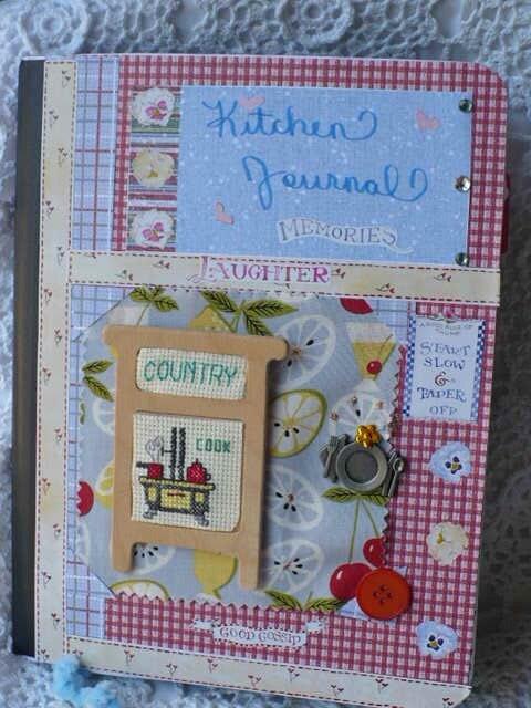 Custom Country Recipes-Memory Book-Family Recipe Book-Homemade Gifts