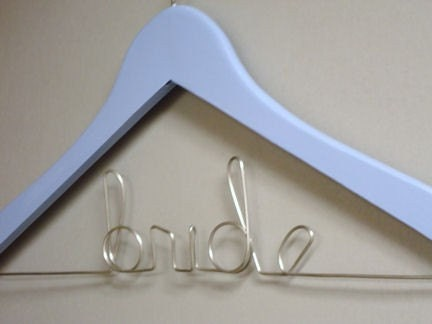 Something Blue Bride's Hanger