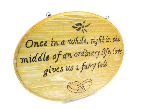 Items Similar To Wedding Gift Sentimental Quote On Love And Marriage Ready To Hang Wood Art