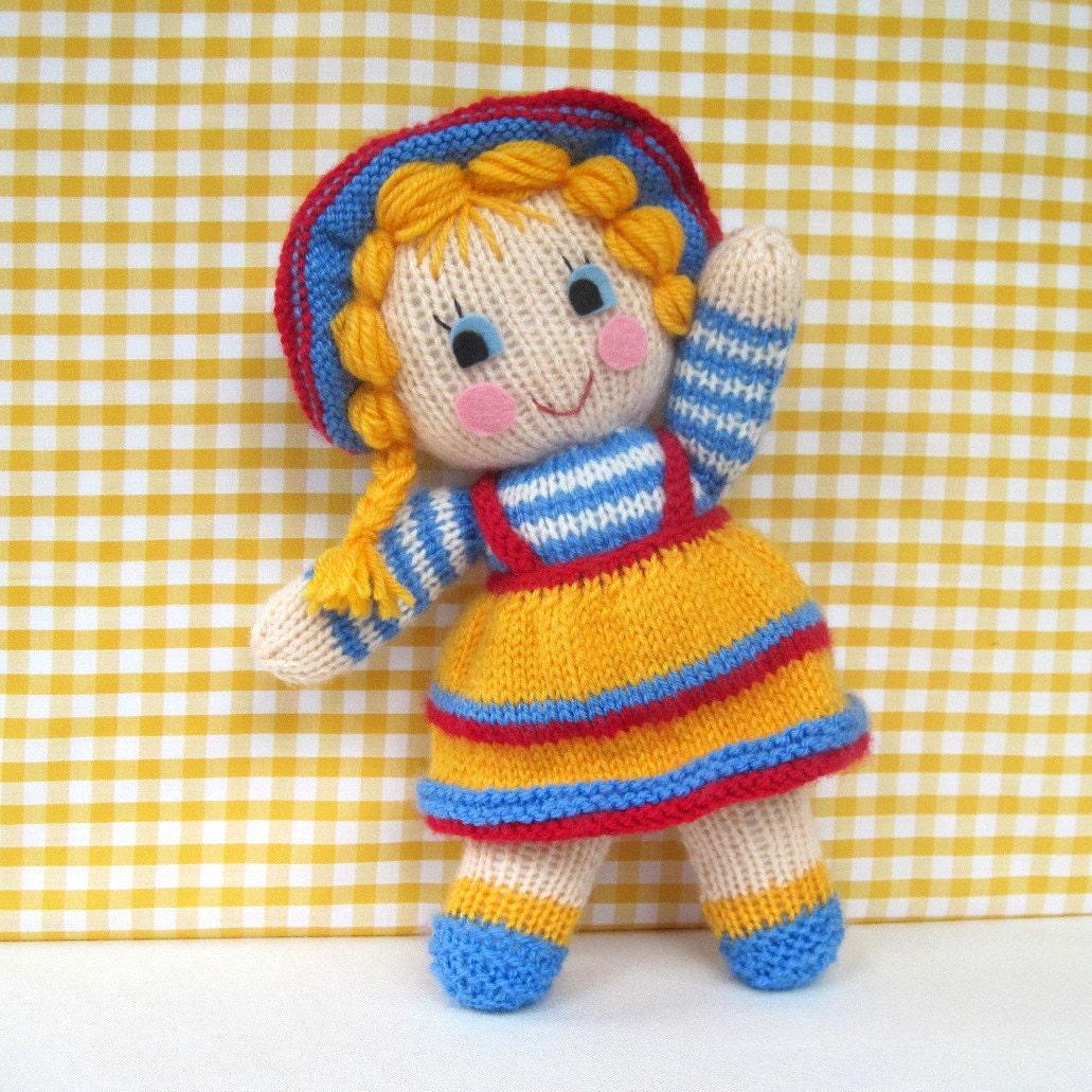 سانی سالی -- PDF ایمیل الگوی عروسک بافتنی اسباب بازی