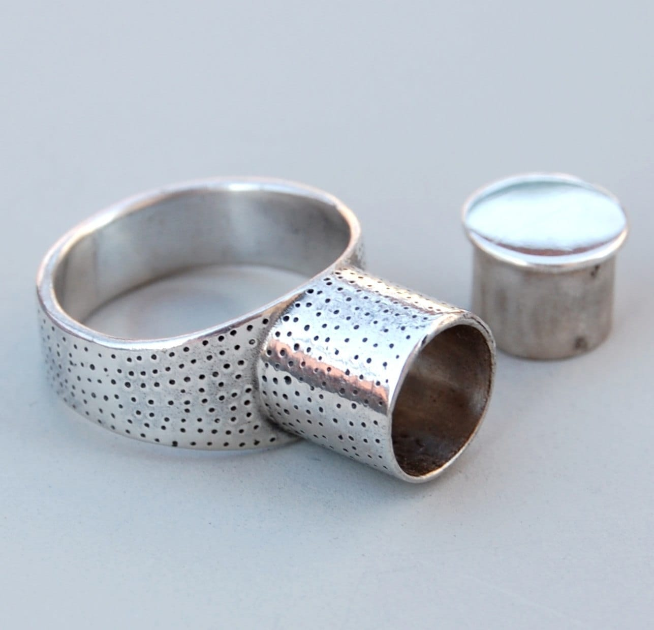 Senegalese Ring - silver