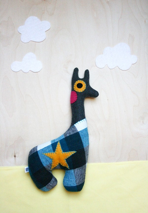 Keo the Charcoal Giraffe Plush